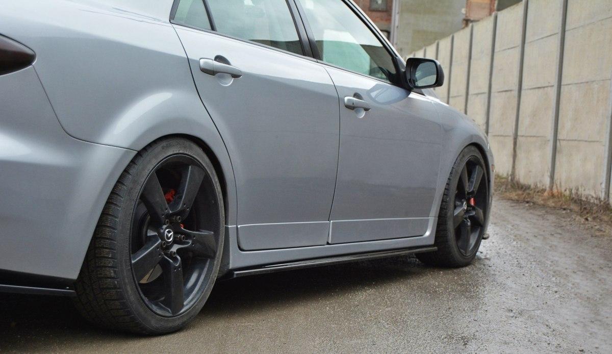 Dokładki Progów Mazda 6 Mk1 MPS - GRUBYGARAGE - Sklep Tuningowy